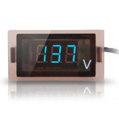 12V-24V Car Digital Display Blue LED Voltmeter Voltage Panel Meter