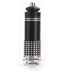 2016 12 V otomatis mobil Mini pembersih udara ionik baru Bar oksigen ozon Ionizer daya bersih penyaring hitam - International