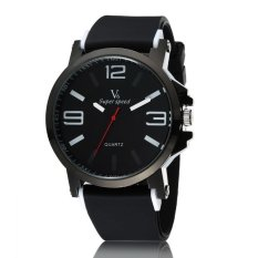 2016 New Arrival Brand Watches Men Women's Sport Watch Causal Waterpoof Men Watch Men's Quartz-watch Clock Women Silicone Wrist - Intl