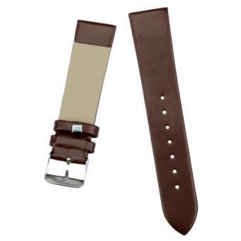 20mm Women Fashion Leather Watch Strap Watch Band Coffee