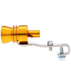 27MM Car Aluminum Exhaust Fake Turbo Sound Whistle Vehicle Pipe Blow Off Valve Muffler - Intl