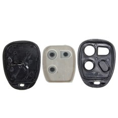 3 Btn Replacement Remote Entry Keyless Key Fob Shell Case Pad For GM 1624510.29