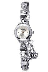 360DSC Kimio Women's Silver Stainless Steel Band Watch K018L