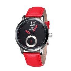 360DSC New Unique Dial Lovers Watch Women's Quartz Movement PU Leather Band Wrist Watch 5015 -
