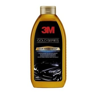 3M Car Wash Soap Gold Series - Shampo Cuci Mobil - 1 Botol - Kuning