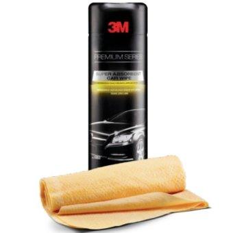 3M Premium Car Wipe - Lap Pengering Pembersih Mobil dari Debu - Kuning - 1 Each