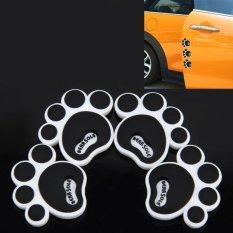 4 Pcs Pvc Gecko Shape Car Side Door Edge Protection Guards Cover Trims Stickers Intl - Daftar Update Harga Terbaru Indonesia