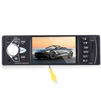 4.1 inch Car MP5 Player 12V Car Vedio Radio TFT ScreenBluetooth/Rear View Camera/Stereo FMRadio/MP4/MP5/Audio/Video/USB/SD/TFT - intl