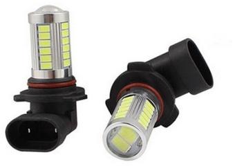 9006 HB4 LED Light untuk Mobil Fog Bulb 5730 LED (Warna Merah)