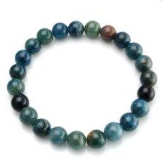 AAA Grade Natural Round Birthstone Gem Beads Genuine Semi Precious Gemstones Bead Stretch Bracelet Hand Made Loose Beads Bracelet With Box Pack - Intl