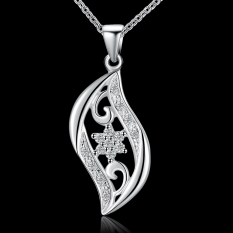 Accessories!!Ornaments Silver Plated Necklace, Silver Plated Fashion Jewelry, Popular Chain Necklace SMTN552 - Intl