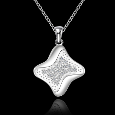Accessories!!Ornaments Silver Plated Necklace, Silver Plated Fashion Jewelry, Popular Chain Necklace SMTN625 - Intl