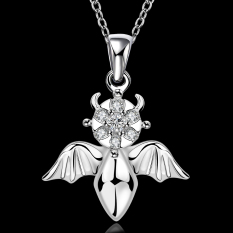 Accessories!!Ornaments Silver Plated Necklace, Silver Plated Fashion Jewelry, Popular Chain Necklace SMTN675 - Intl
