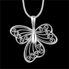 Accessories!!Ornaments Silver Plated Necklace, Silver Plated Fashion Jewelry, Popular Chain Necklace SMTN688 - Intl