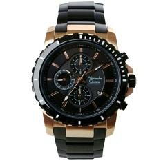 Alexandre Christie AC6141MRB Jam Tangan Pria Stainless Steel Hitam Rose Gold