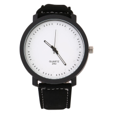 Allwin Korean Style Fashion Minimalist No Letter Men And Women Couple Lovers Watches - Intl
