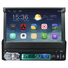 Android Detachable Car Stereo 1 DIN 7 Inch 1024x600 GPS Navigation Radio Bluetooth Player WIFI Touch Screen