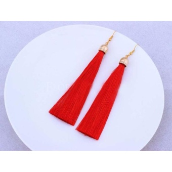 Anting Wanita Tassel Type 005 - Merah