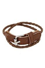 Arisu Collection Korean Simple Multilayer Belt Bracelet
