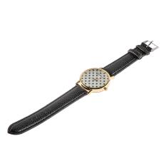 Astar Women Pu Leather Wrist Watches Quartz-Watch (Gold) ϼ