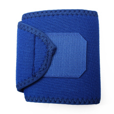 Audew Neoprene Silicon Wrist Thumb Brace Support Guard Gym Weight Lifting Strap Wrap Blue - Intl