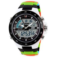Autoleader SKMEI 1016 Men Display Waterproof LED Sport Wrist Watch (Intl)