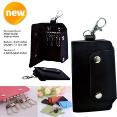 Autorace Dompet / Gantungan Kunci Mobil Motor Polos - Black