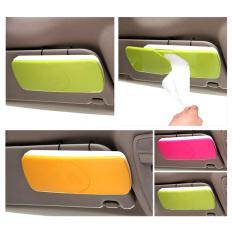 Autorace Tempat Tissu Mobil / Tissue Box Gantung Sunvisor TS-11 - Green