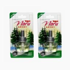 Bagus Naru Carfresh Refill - Pewangi Mobil Aroma Mori Forest 2 Pcs