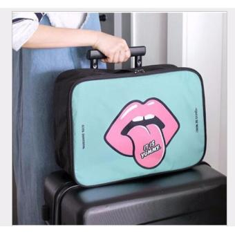 BEST LIP Travel Bag (Size M) Hand Carry Tas Lipat Koper Luggage Organizer Tenteng - TOSCA