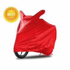 Best Seller Cover Motor Spesial Honda Supra X 125 Merah Kualitas Premium