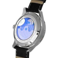 Bestdon BD7113G Men's Automatic Mechanical Tourbillon Moonphase Watch W / Luminous Pointer - Silver + Black (Intl)