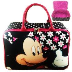 BGC Travel Bag Kanvas Mickey Mouse Jumbo - Black