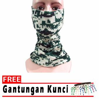 Binev Buff Masker Multifungsi Seamless Wear 009 - Multicolor