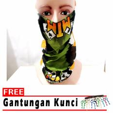 Binev Masker Buff free gantungan Kunci-02 - Multicolor