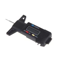Black Digital LCD Tyre Tire Tread Depth Gauge 0-25.4mm Metric / Inch