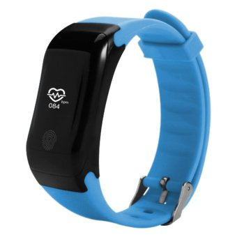 Bluetooth Sport Smart Watch Waterproof Smartwatch Heart RateMonitor Smart Band Swim Bracelet for Android IOS PK ID107 - intl