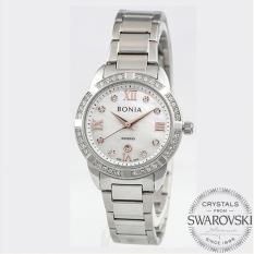 Bonia BN10278-2353S Jam Tangan Wanita Silver Stainless Steel
