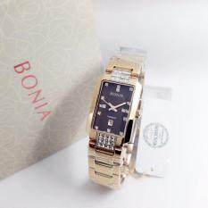 Bonia BN2247 Jam Tangan Wanita Rose Gold Stainles