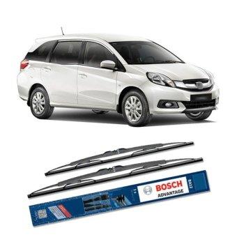 Bosch Sepasang Wiper Kaca Mobil Honda Mobilio Advantage 22 16