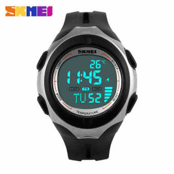 Brand Men Watch LED Digital Outdoor Sports Watches Temperature Army Military MultiFunction Wristwatch Relogio Masculino - Intl