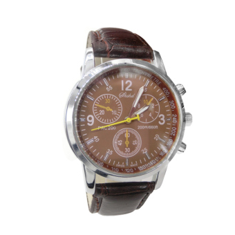 Business Delicate Quartz Leather Wrist Watch
