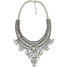 BUYINCOINS Charm Pendant Chain Crystal Chunky Choker Bib Statement Necklace Fashion Jewelry (Intl)
