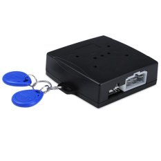 Car Engine Push Start Button RFID Lock Ignition Starter Keyless Entry Start Stop Immobilizer - intl