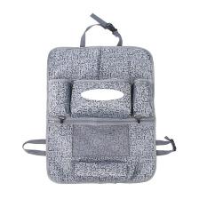 Car Multifunctional Automotive Supplies Car Seat Hanging Storage Bag Hang Bag Storage Car Seats Grey