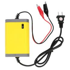 Cas Aki - Portable Motorcrycle Car Battery Charger 12V/2A - Kuning