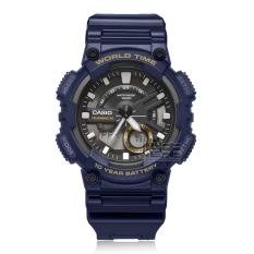 Casio aeq-110w-1a menonton pria tahan air ini jam tangan