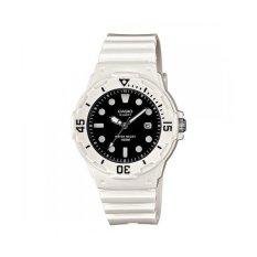 Casio Analog LRW-200H-1EVDF Women's Watch - White / Black