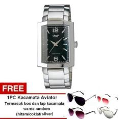 Casio Analog Watch MTP-1233D-1ADF - Jam Tangan Pria - Tali Stainless steel