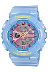 Casio Baby-G Women's Watch BA-110CA-2A Blue (Free Size)